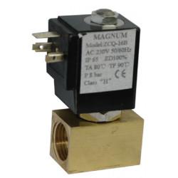 Elektrinis vožtuvas vandeniui G 1/4 4mm 12VDC 0-80C