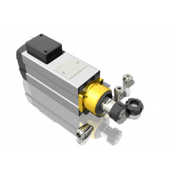 CNC Spindle variklis 1.1 kW 24000 rpm aušinamas oru, kvadratinis