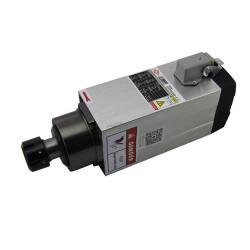 CNC Spindle variklis 2.2 kW 18000 rpm aušinamas oru, kvadratinis