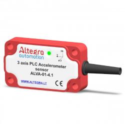 Vibrations sensor 3 axis FFT, CAN,4xIO