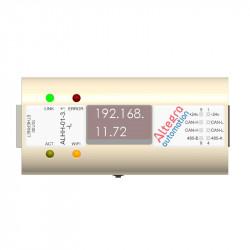 Микро маршрутизатор PLC WiFi CAN-FD с OLED-экраном