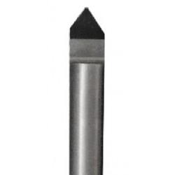 Freza deimantinė V1-0.4  6x4mm 45 laipsnių L40/D6 205D
