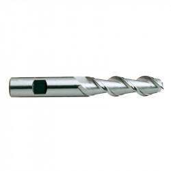 Freza HSS Co8 prailginta U2 6x25mm L70/D6