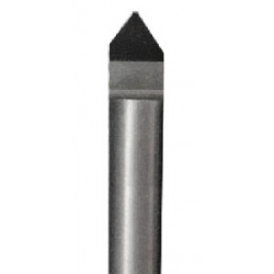 Freza deimantinė V1-0.4  6x4mm 45 laipsnių L40/D6 105D